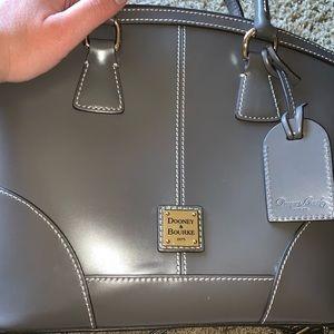 Dooney & Bourke Gray Leather Purse